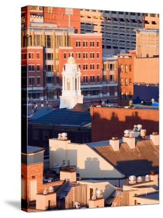 Buildings and High Rises in Boston, Massachusetts--Stretched Canvas Print