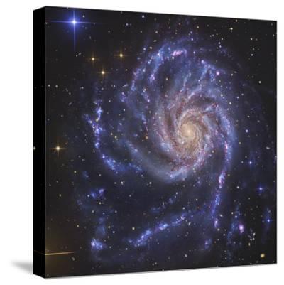Pinwheel Galaxy, NGC 5457-Stocktrek Images-Stretched Canvas Print