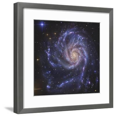 Pinwheel Galaxy, NGC 5457-Stocktrek Images-Framed Photographic Print