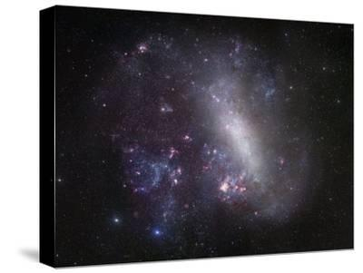 Large Magellanic Cloud-Stocktrek Images-Stretched Canvas Print