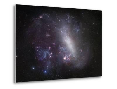 Large Magellanic Cloud-Stocktrek Images-Metal Print
