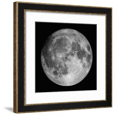 Full Moon-Stocktrek Images-Framed Photographic Print