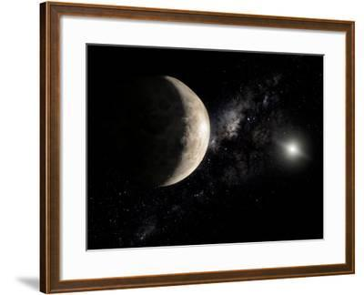 Makemake, a Plutoid Located in a Region Beyond Neptune-Stocktrek Images-Framed Photographic Print