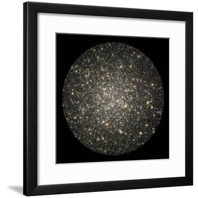 Globular Cluster M13-Stocktrek Images-Framed Photographic Print