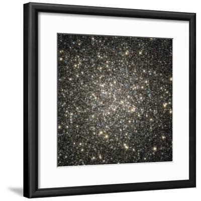 Globular Cluster M13-Stocktrek Images-Framed Photographic Print