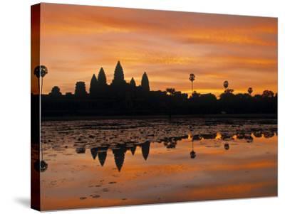 Angkor Wat, Siem Reap, Cambodia-Walter Bibikow-Stretched Canvas Print