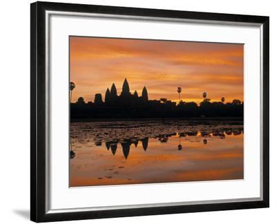 Angkor Wat, Siem Reap, Cambodia-Walter Bibikow-Framed Photographic Print