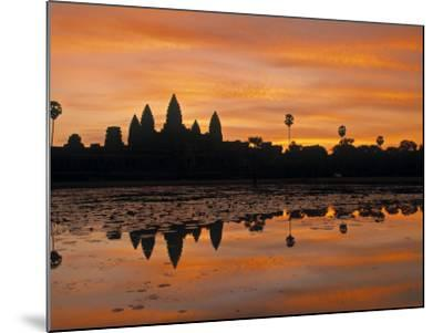 Angkor Wat, Siem Reap, Cambodia-Walter Bibikow-Mounted Photographic Print