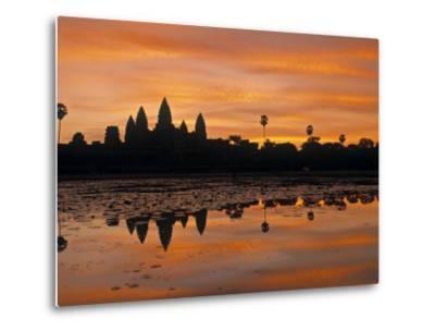 Angkor Wat, Siem Reap, Cambodia-Walter Bibikow-Metal Print
