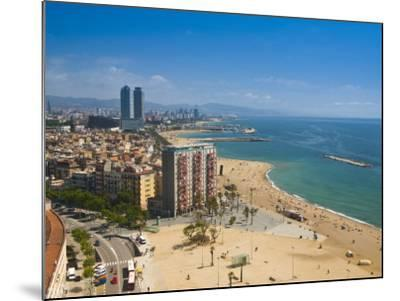 La Barceloneta, Platja De La Barceloneta, Barcelona, Spain-Alan Copson-Mounted Photographic Print
