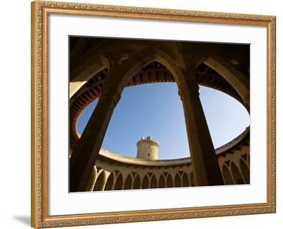 Castell De Bellver, Palma, Mallorca, Spain-Neil Farrin-Framed Photographic Print