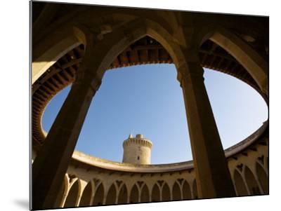 Castell De Bellver, Palma, Mallorca, Spain-Neil Farrin-Mounted Photographic Print