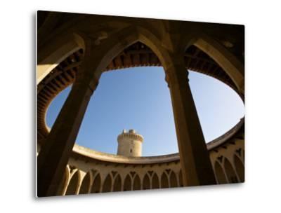 Castell De Bellver, Palma, Mallorca, Spain-Neil Farrin-Metal Print