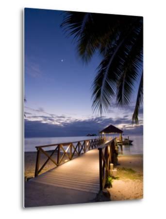 Luxury Resort, Malolo Island, Mamanuca Group, Fiji-Michele Falzone-Metal Print