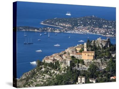 Eze, French Riviera, Cote D'Azur, France-Doug Pearson-Stretched Canvas Print