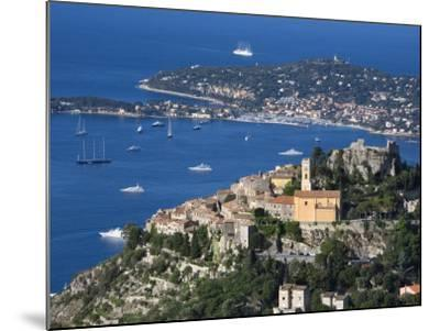 Eze, French Riviera, Cote D'Azur, France-Doug Pearson-Mounted Photographic Print