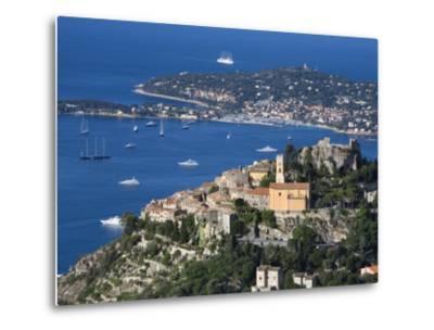 Eze, French Riviera, Cote D'Azur, France-Doug Pearson-Metal Print