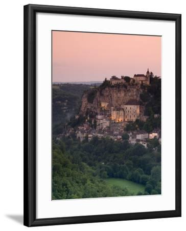 Rocamadour, Dordogne, France-Doug Pearson-Framed Photographic Print
