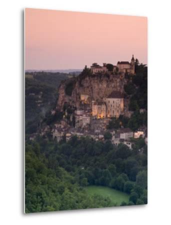 Rocamadour, Dordogne, France-Doug Pearson-Metal Print