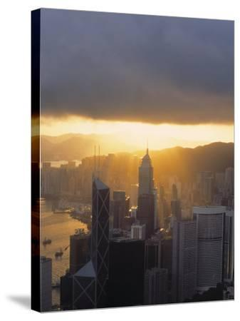 Central, Hong Kong, China-Demetrio Carrasco-Stretched Canvas Print
