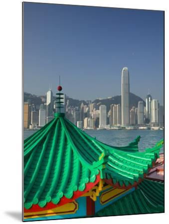 Kowloon, Victoria Harbour, International Financial Centre, Central, Hong Kong, China-Walter Bibikow-Mounted Photographic Print