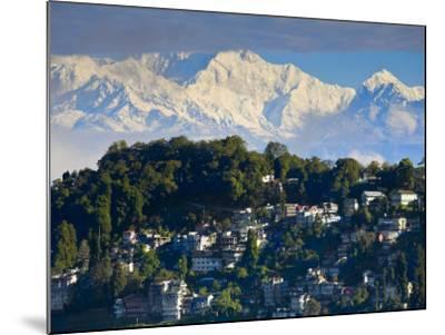 Darjeeling and Kanchenjunga, West Bengal, India-Jane Sweeney-Mounted Photographic Print