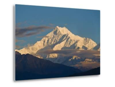 Kangchendzonga Range, View of Kanchenjunga, Ganesh Tok Viewpoint, Gangtok, Sikkim, India-Jane Sweeney-Metal Print