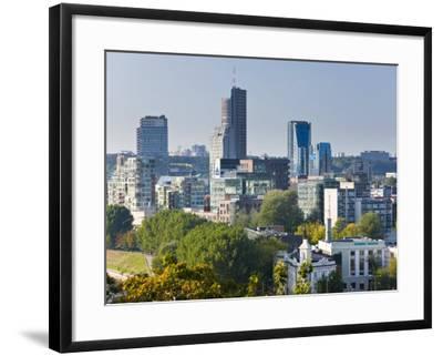 City Skyline, Vilnius, Lithuania-Gavin Hellier-Framed Photographic Print