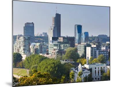 City Skyline, Vilnius, Lithuania-Gavin Hellier-Mounted Photographic Print