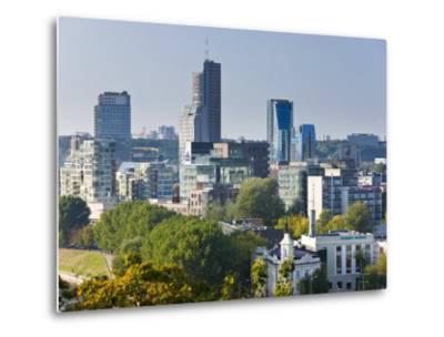City Skyline, Vilnius, Lithuania-Gavin Hellier-Metal Print