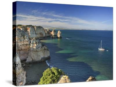 Ponta Da Piedade, Lagos, Algarve, Portugal-Michele Falzone-Stretched Canvas Print