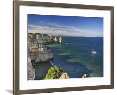 Ponta Da Piedade, Lagos, Algarve, Portugal-Michele Falzone-Framed Photographic Print