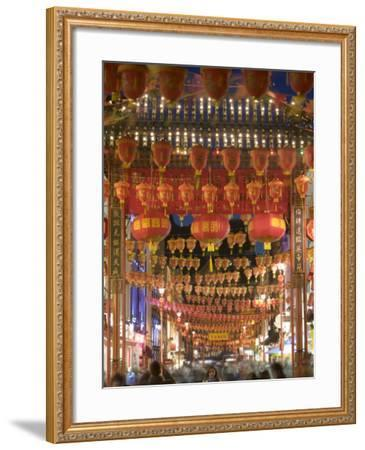 Chinese New Year, China Town, London, England-Doug Pearson-Framed Photographic Print