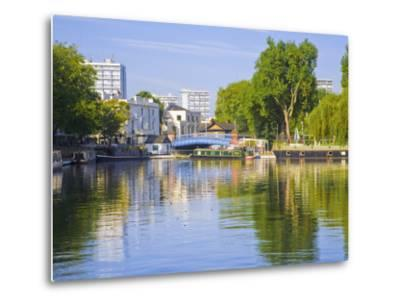Canal Boats, Little Venice, Maida Vale, London, England-Jane Sweeney-Metal Print