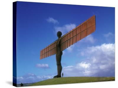 Angel of the North, Gateshead, Tyne and Wear, England-Robert Lazenby-Stretched Canvas Print