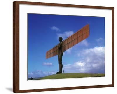 Angel of the North, Gateshead, Tyne and Wear, England-Robert Lazenby-Framed Photographic Print