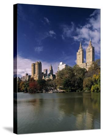 Central Park, New York City, USA-Walter Bibikow-Stretched Canvas Print