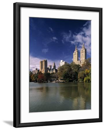 Central Park, New York City, USA-Walter Bibikow-Framed Photographic Print