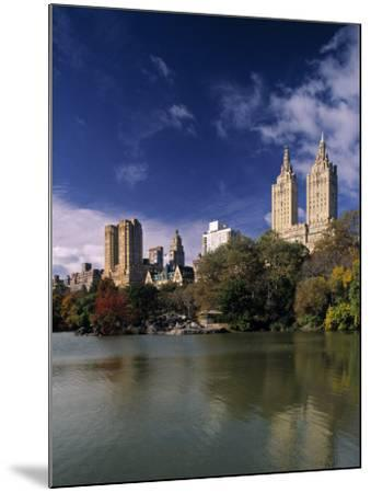 Central Park, New York City, USA-Walter Bibikow-Mounted Photographic Print
