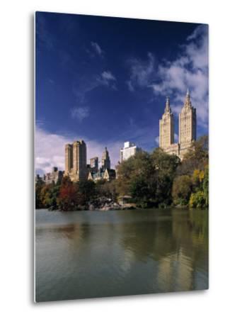 Central Park, New York City, USA-Walter Bibikow-Metal Print