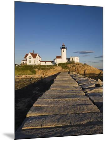Eastern Point Lighthouse, Gloucester, Cape Ann, Massachusetts, USA-Walter Bibikow-Mounted Photographic Print
