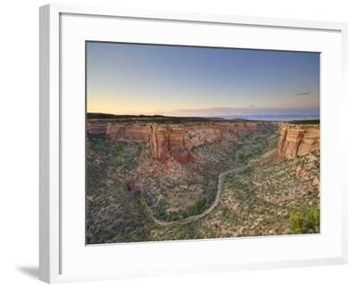 Ute Canyon, Colorado National Monument, Great Junction, Colorado, USA-Michele Falzone-Framed Photographic Print