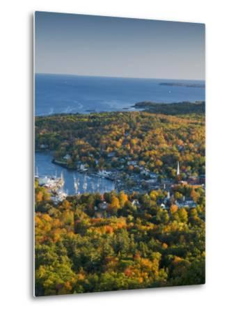 Camden, Maine, USA-Alan Copson-Metal Print