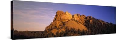 Mount Rushmore, South Dakota, USA-Walter Bibikow-Stretched Canvas Print