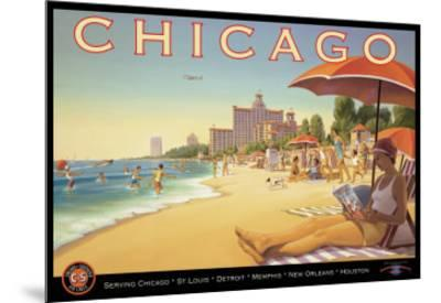 Chicago and Southern Air-Kerne Erickson-Mounted Giclee Print
