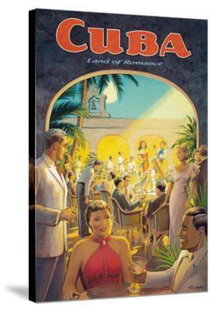Cuba, Land of Romance-Kerne Erickson-Stretched Canvas Print
