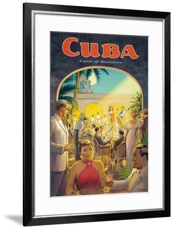 Cuba, Land of Romance-Kerne Erickson-Framed Giclee Print