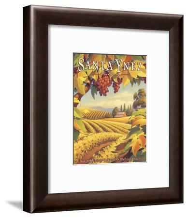 Santa Ynez Valley-Kerne Erickson-Framed Giclee Print