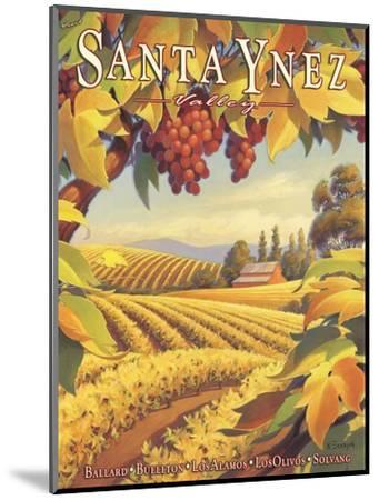 Santa Ynez Valley-Kerne Erickson-Mounted Giclee Print