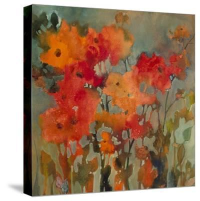 Orange Flower-Michelle Abrams-Stretched Canvas Print